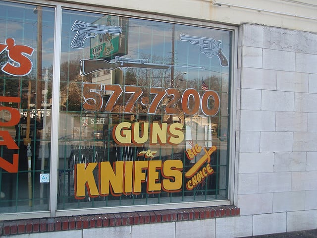 assault with a deadly weapon store