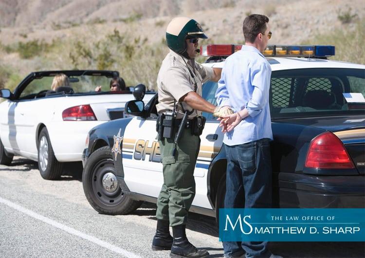 Texas dwi arrest